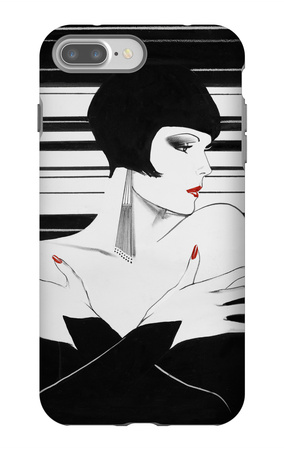 Fashion Women II iPhone 7 Plus Case by Linda Baliko