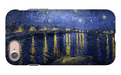Starry Night over the Rhone iPhone 7 Case by Vincent van Gogh