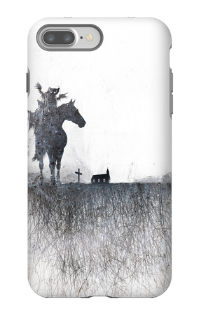 Death rides a horse iPhone 7 Plus Case by Alex Cherry