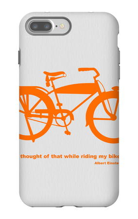 I Thought Of That While Riding My Bike iPhone 7 Plus Case by  NaxArt