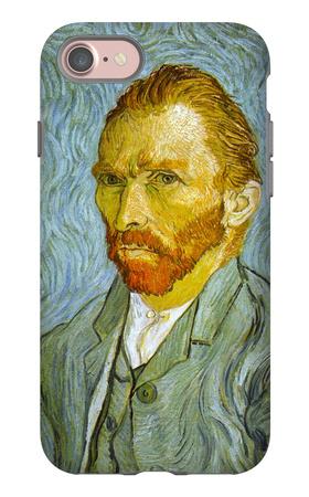 Self Portrait iPhone 7 Case by Vincent van Gogh