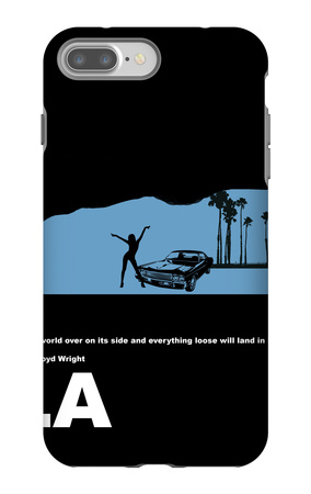 Los Angeles Poster iPhone 7 Plus Case by  NaxArt