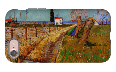 Path Through a Field with Willows iPhone 7 Case by Vincent van Gogh