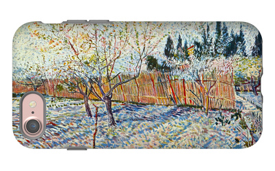 Orchard with Cypress iPhone 7 Case by Vincent van Gogh