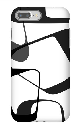 Abstract Rings 2 iPhone 7 Plus Case by  NaxArt