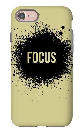 Focus Grey iPhone 7 Case by  NaxArt