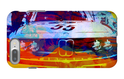 Bmw Racing Watercolor iPhone 7 Plus Case by  NaxArt