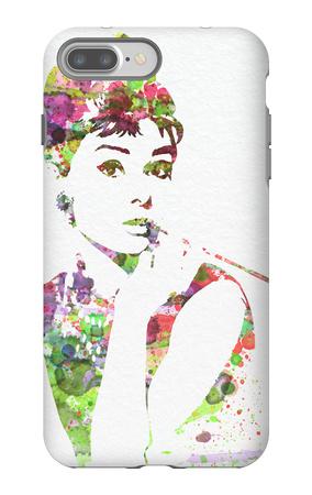Audrey Hepburn 2 iPhone 7 Plus Case by  NaxArt