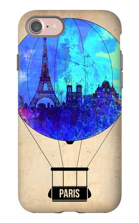Paris Air Balloon iPhone 7 Case by  NaxArt
