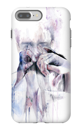 Gestures iPhone 7 Plus Case by Agnes Cecile