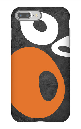 Abstract Oval Shapes 1 iPhone 7 Plus Case by  NaxArt