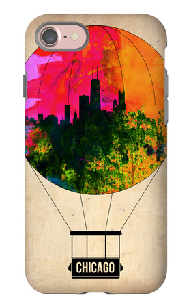 Chicago Air Balloon iPhone 7 Case by  NaxArt