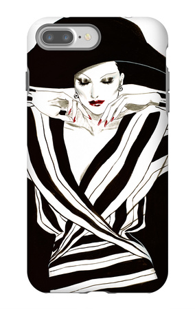 Fashion Women III iPhone 7 Plus Case by Linda Baliko