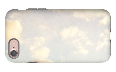 Pale Blue Sky And Clouds 5 iPhone 7 Case by Susannah Tucker
