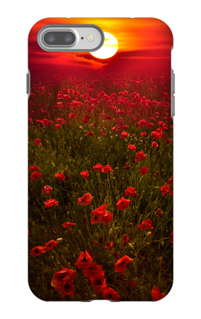 Warm Sunset iPhone 7 Plus Case by Marco Carmassi