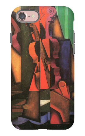 Violin and Guitar iPhone 7 Case by Juan Gris!