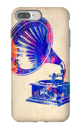 Gramophone 2 iPhone 7 Plus Case by  NaxArt