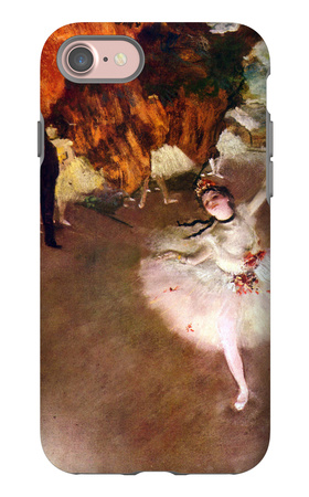 The Prima Ballerina iPhone 7 Case by Edgar Degas