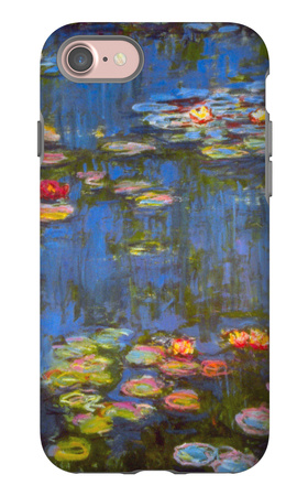 Waterlillies iPhone 7 Case by Claude Monet