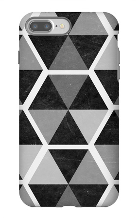 Gray Pattern II iPhone 7 Plus Case