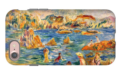 At the Beach of Guernesey iPhone 7 Case by Alfred Sisley
