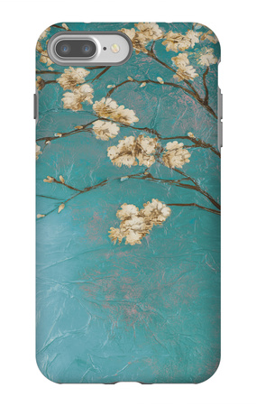 Glamorous on Teal II iPhone 7 Plus Case by Patricia Quintero-Pinto