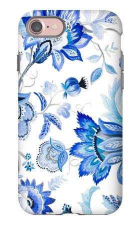Capri Floral I iPhone 7 Case by Lanie Loreth