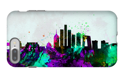 Beijing City Skyline iPhone 7 Plus Case by  NaxArt
