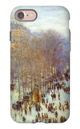 Boulevard Capucines iPhone 7 Case by Claude Monet