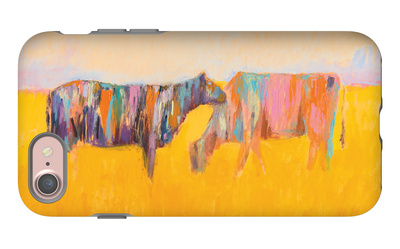 Grazing iPhone 7 Case by JC Pino