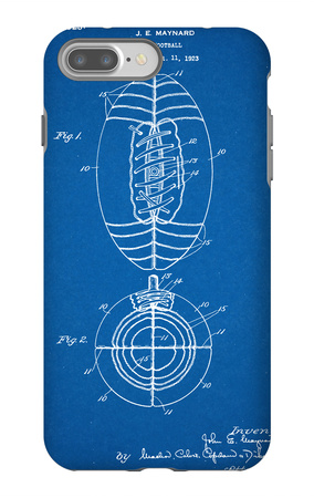Football Patent 1923 iPhone 7 Plus Case