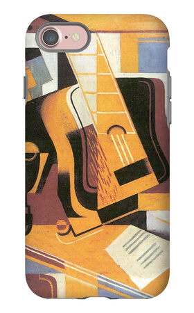 The Guitar 1918 iPhone 7 Case by Juan Gris