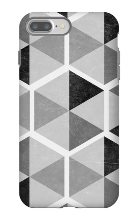 Gray Pattern I iPhone 7 Plus Case