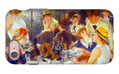 Luncheon of the Boating Party iPhone 7 Case by Pierre-Auguste Renoir