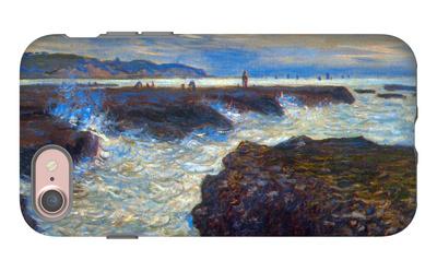 Pourville iPhone 7 Case by Claude Monet