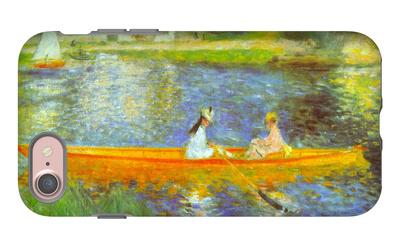 The Seine iPhone 7 Case by Pierre-Auguste Renoir
