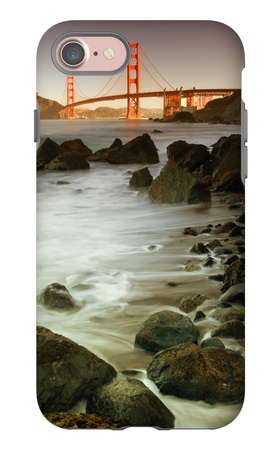 Baker Beach and the Golden Gate Bridge iPhone 7 Case by Vincent James