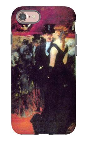 Paris Opera iPhone 7 Case by Jean Louis Forain