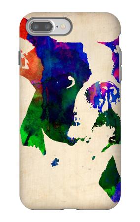 Boston Terrier Watercolor iPhone 7 Plus Case by  NaxArt
