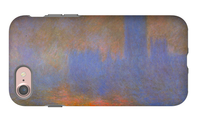 Houses of Parliament iPhone 7 Case by Claude Monet