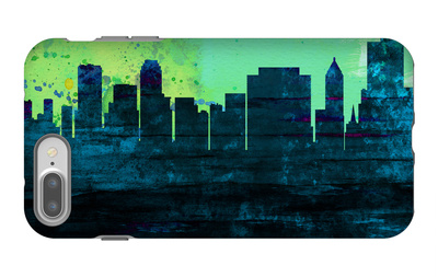Tulsa City Skyline iPhone 7 Plus Case by  NaxArt