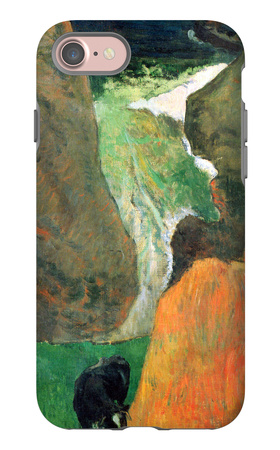Hover Above the Abyss iPhone 7 Case by Paul Gauguin