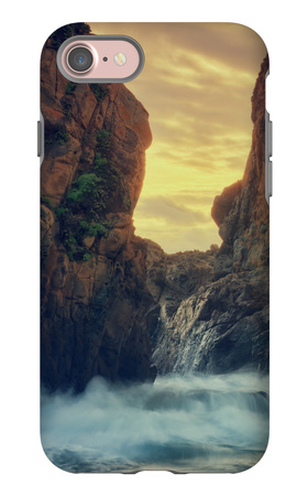 Cove Drama, Big Sur iPhone 7 Case by Vincent James