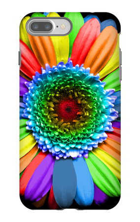 Rainbow Flower iPhone 7 Plus Case by Magda Indigo