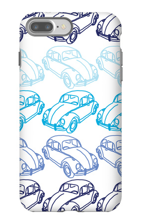 Blue Bug iPhone 7 Plus Case by  Avalisa