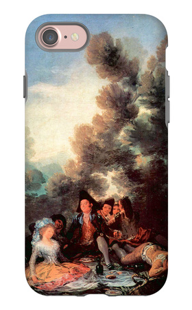Vesper Outdoors iPhone 7 Case by Francisco de Goya!