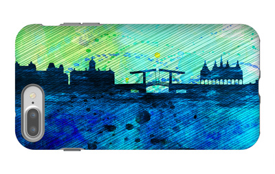 Amsterdam City Skyline iPhone 7 Plus Case by  NaxArt