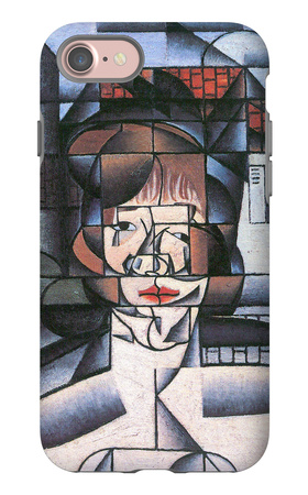 Portrait of Madame Germaine Raynal iPhone 7 Case by Juan Gris