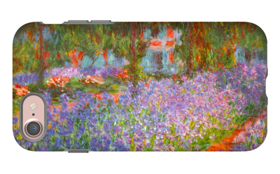 Monet's Garden iPhone 7 Case by Claude Monet