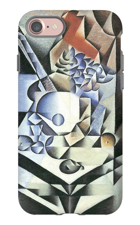 Still Life with Flowers iPhone 7 Case by Juan Gris